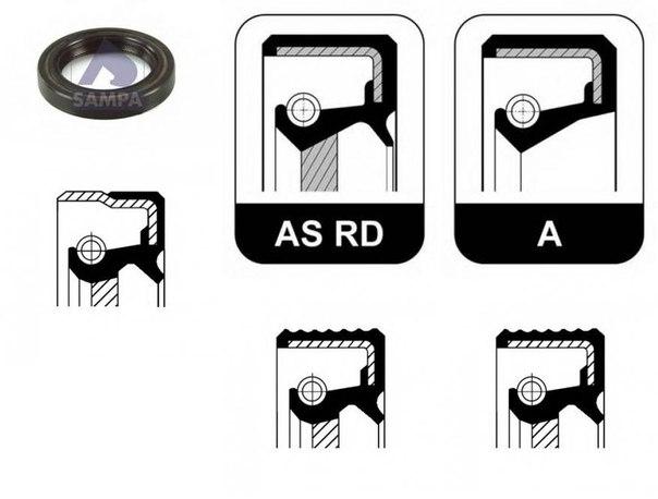Уплотняющее кольцо, коленчатый вал для ALFA ROMEO 6 (119)