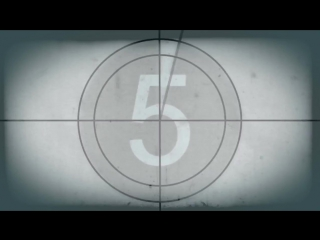 Футаж Начало фильма HD