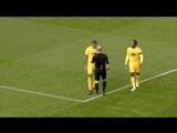 Два футболиста одной команды отмутузили друг друга и получили по красной