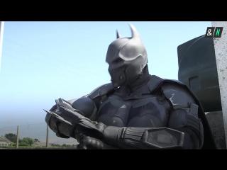 Чувак сделал настоящий костюм Бэтмена.