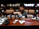 Как Китайцы заваривают шен пуэр в гайвани