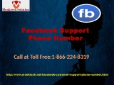 Ring 1-866-224-8319 Facebook Customer Support Number &amp flush away all your Problems!