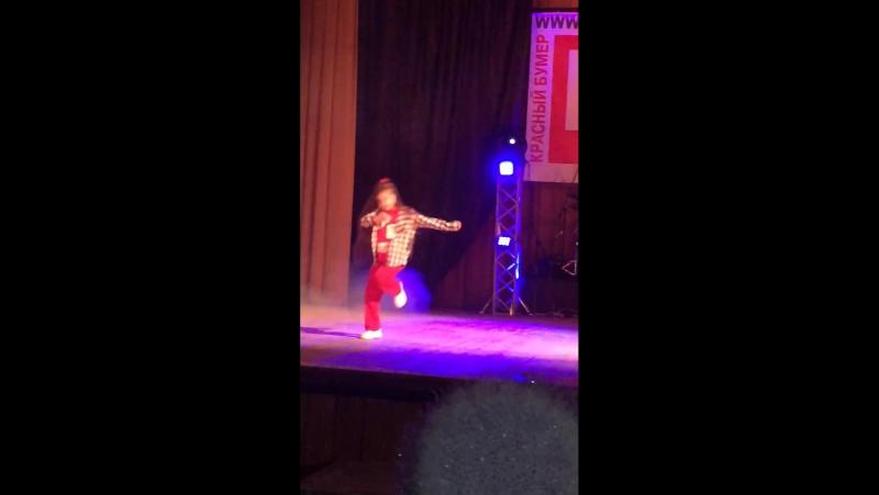 Щербатых Виолетта Sulin Dance Project 2017 Hip Hop фристайл