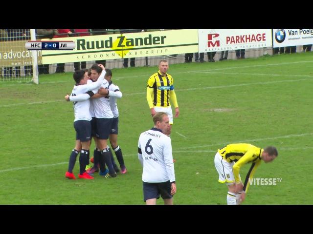 Samenvatting Koninklijke HFC vs Jong Vitesse (3-1)