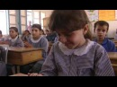 Little girl shot in a class room in Gaza. Oct. 2004