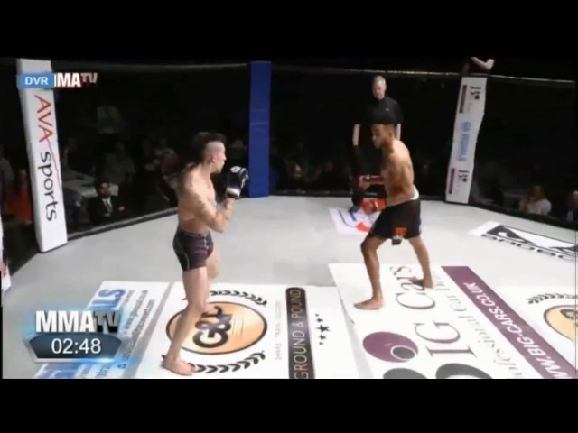 Johan Segas vs Joe Harding - BCMMA - February 2017 - Brutally Knocked Out » Freewka.com - Смотреть онлайн в хорощем качестве
