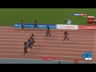 Elaine Thompson Destroys the Field 10.78 (-0.3) Women's 100m Shanghai Diamond League 2017 [HD]