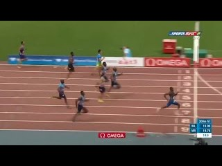 19 yr old Noah Lyles 19.90 (-0.4) WL Men's 200m Shanghai Diamond League 2017 [HD]