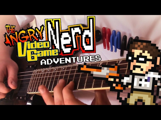 Angry Video Game Nerd Adventures Guitar Medley