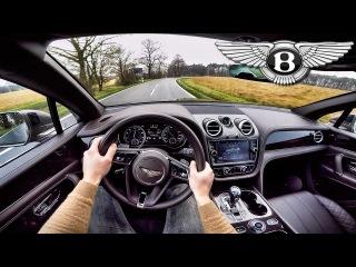 Bentley Bentayga POV Test Drive Interior SOUND by AutoTopNL