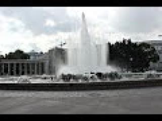 Площадь Шварценбергплац Памятник героям красной армии, погибшим при освобожден...