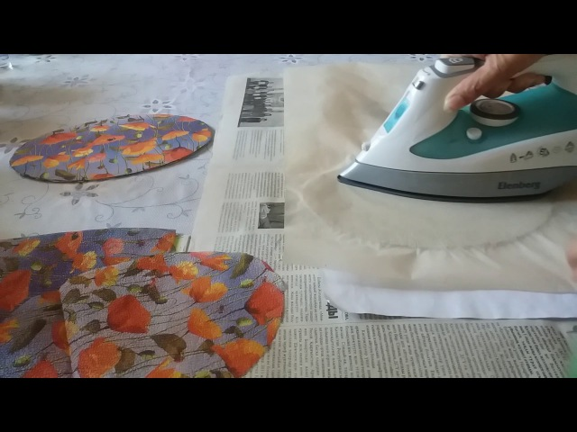 Как сделать декоративное картонные дно для газетных плетенок