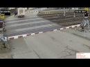 Почти авария на железнодорожном переезде в чешском городе Раец Йестреби группа vk/avtooko сайт avtoregik