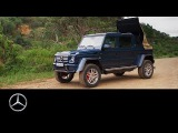 Mercedes-Maybach G 650 Landaulet in Africa  Mercedes-Benz original.