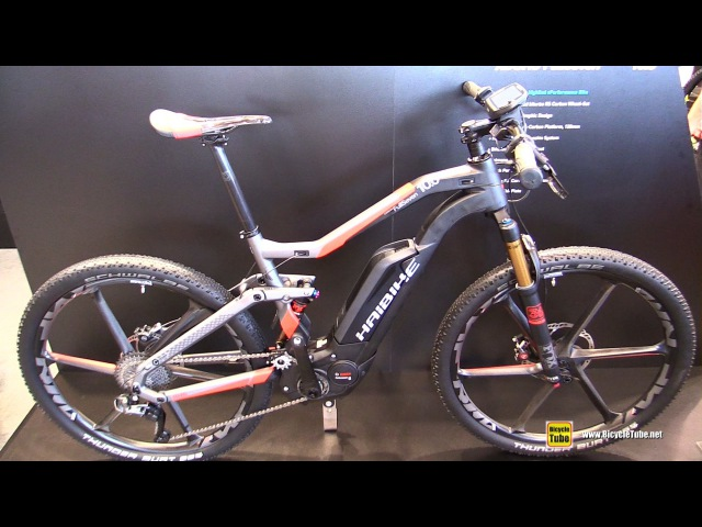 2017 Haibike Xduro FullSeven Carbon 10.0 Bike Mountain Bike - Walkaround - 2016 Eurobike