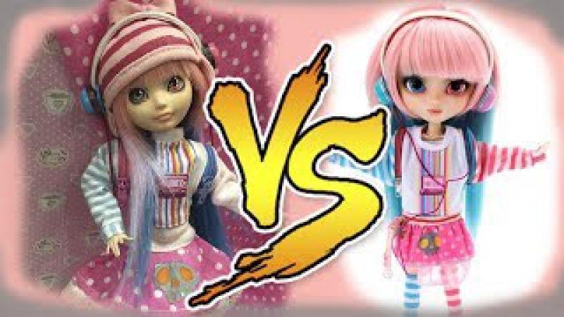 Перевоплощение Блонди в Акеми Пуллип (Pullip Akemi) Как сшить шапку для кукол. Как сшит...