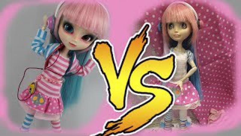 Перевоплощение Блонди В Акеми Пуллип (Pullip Akemi) Как сшить платье для кукол