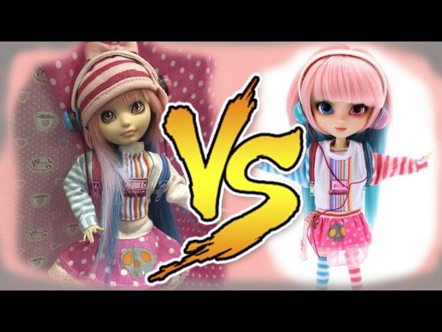 Перевоплощение Блонди в Акеми Пуллип (Pullip Akemi) Как сшить кофту для кукол