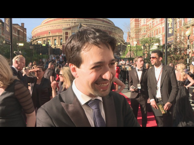 Olivier Awards: Lin-Manuel Miranda LOVES Only Fools and Horses!