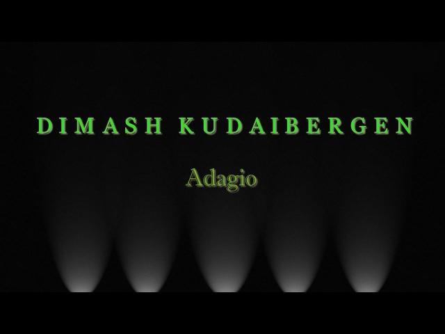 《Adagio》 music video. Dimash Kudaibergen.