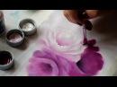 Pintura em tecido - Rosas, cores novas acrilex.