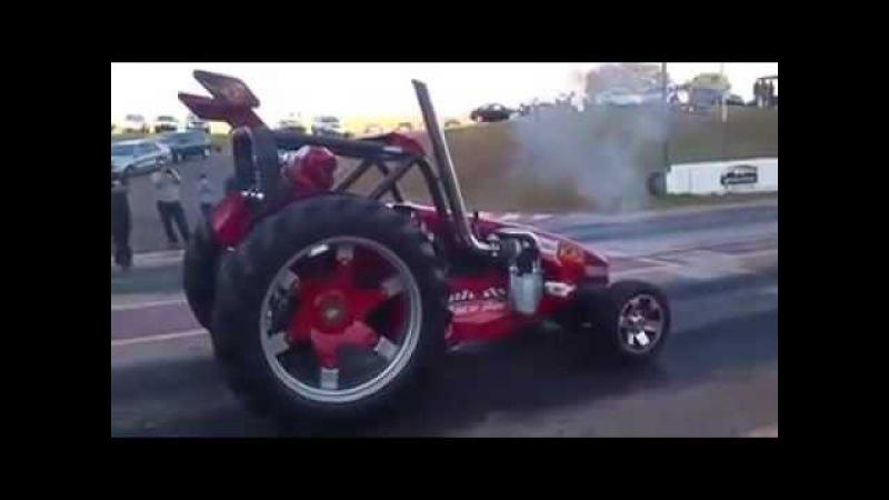 Двойной турбодизельный гоночный трактор/Twin Turbo Diesel Race Tractor
