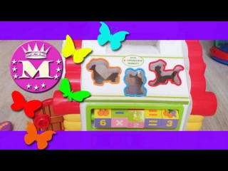 Сортер теремок Joy Toy.Обзор Музыкальный Сортер теремок Джой Той/Sorter Joy Toy.