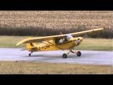 Piper PA-18-135 Super Cub Landing in Windy Conditions CSU3