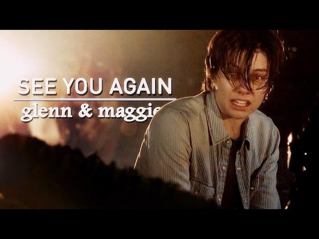 TWD Glenn Maggie see you again