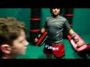 Kids Muay Thai Training