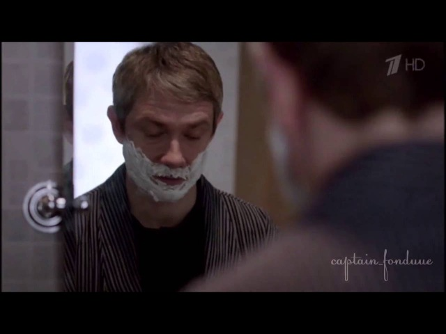 Sherlock crack: russian crack (Johnlock)