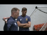 Inside Training: Behind-the-scenes on Gerrard's first day