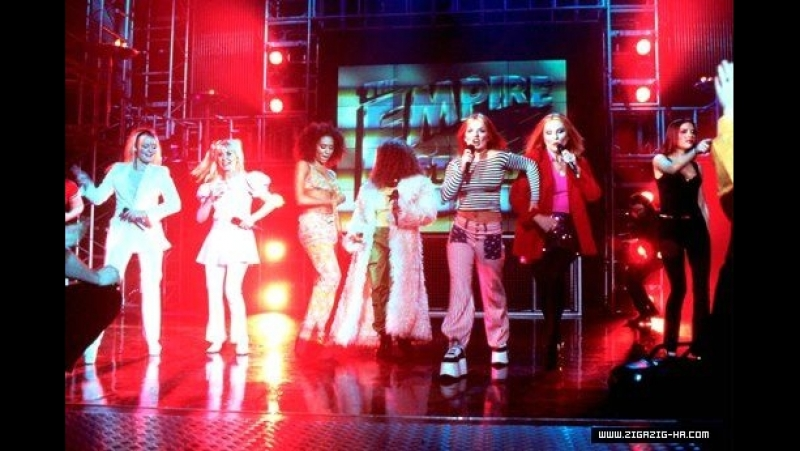 The Spice Girls and The Sugar Lumps @ Comic Relief