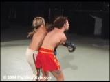 Karine vs Kahti - Topless Kickboxing
