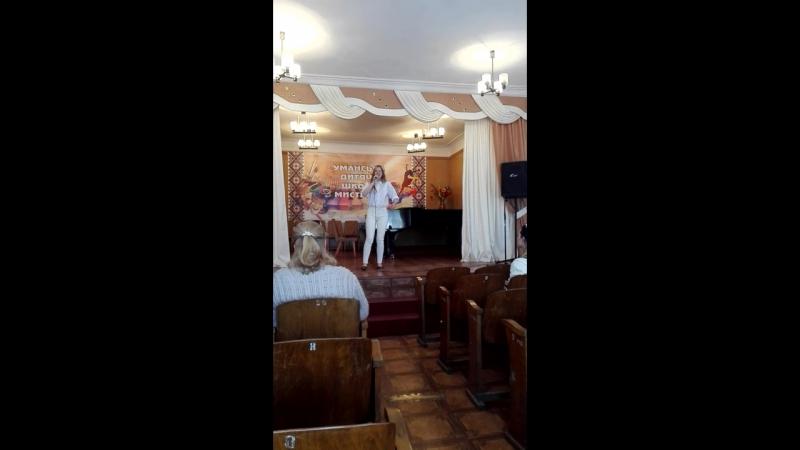 Філіпчук Ірина - з репертуару Michael Buble – I am Feeling Good