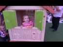 ВЛОГ прогулка танцующий цветной фонтан детская площадка VLOG walk dancing fountain playground