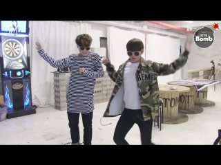 [RUS SUB][BANGTAN BOMB] Free dance time with JIMIN & V
