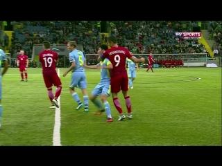 Левандовски разбил нос игроку Казахстана, а также хотел задушить одного из них