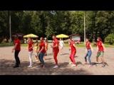 Клубный танец команды анимации