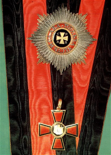 Звезда и знак ордена Святого Владимира 1-й