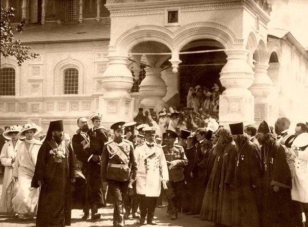 Приезд Императора Николая II в Кострому. Костромская