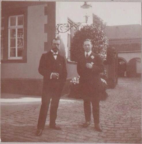 Во время поездки в Данию, 1910.
