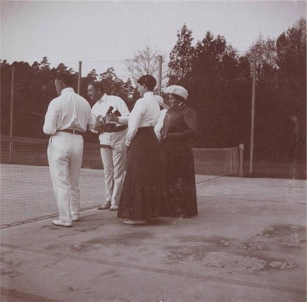 О теннисе в Российской империи