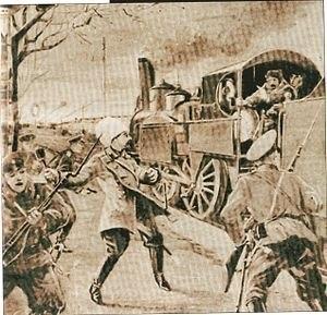 О действиях генерала Маркова во время боя