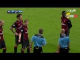 في واقعة غريبة حكم مباراة الميلان واليوفي يحتسب هدف ثم يعود ويلغيه بعد دقيقتين