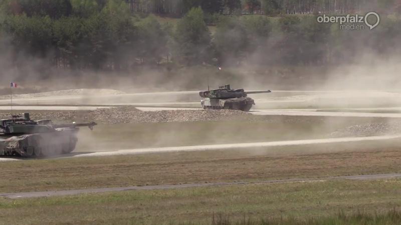Украинцы заняли предпоследнее место в натовском танковом биатлоне