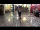 Танго-лаборатория 1.08.2016 - Связка Сергея и Вероники (Михаил Чудин - Эльвира Кашкарова, урок аргентинское танго)
