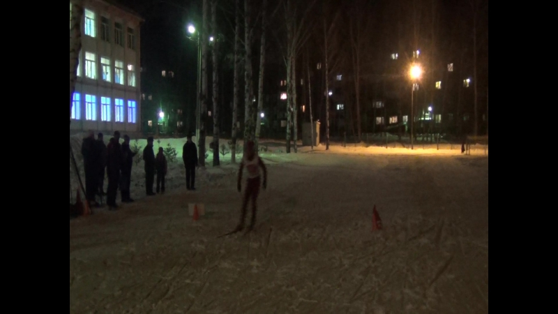 Вечерний спринт Осинники 15.12.2016г. Возрастная группа 18 - 39лет.Финал.