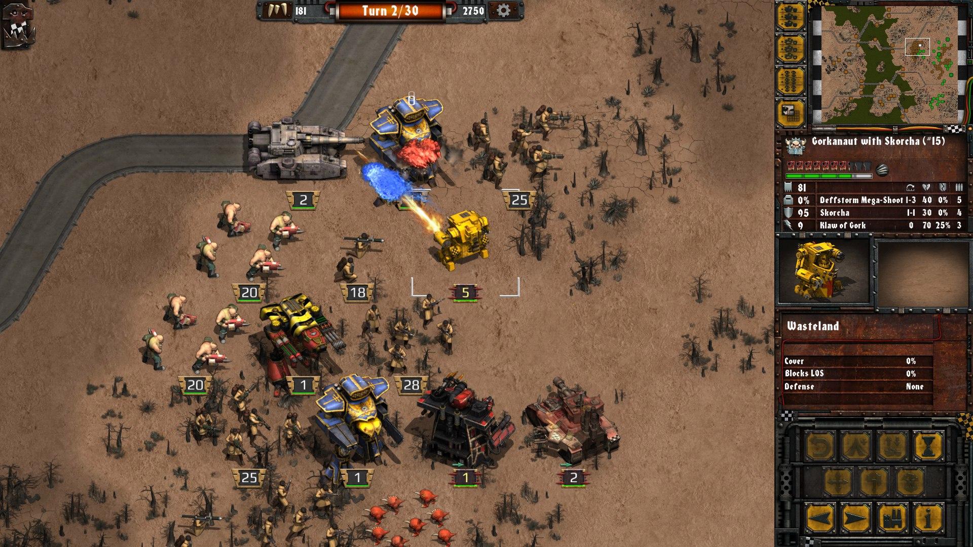 Warhammer 40,000: Armageddon: Da Orks (2016) PC - Скриншот 3