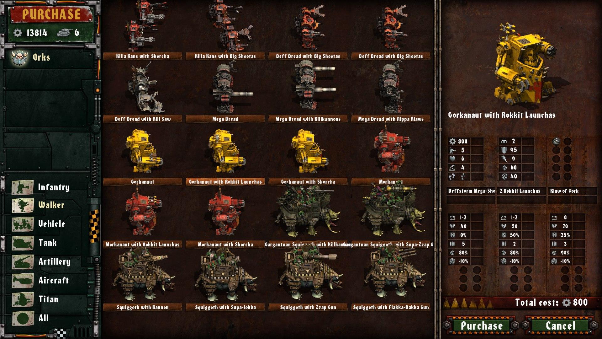 Warhammer 40,000: Armageddon: Da Orks (2016) PC - Скриншот 2